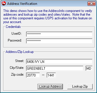 Address Verified